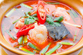 Tom Yam Salmon fish (Mix Thai cuisine) - PhotoDune Item for Sale