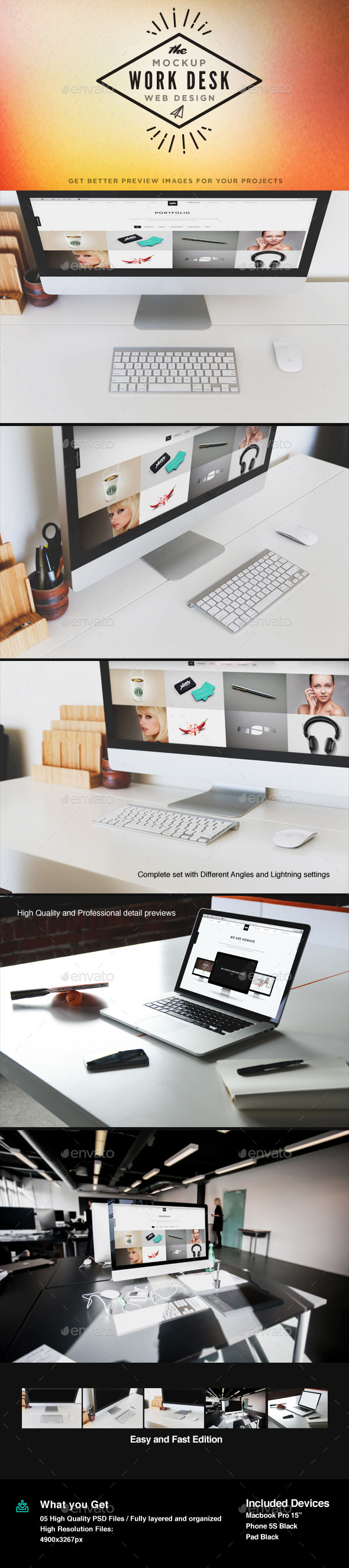 GraphicRiver Display Screen Mock-Up 10937839