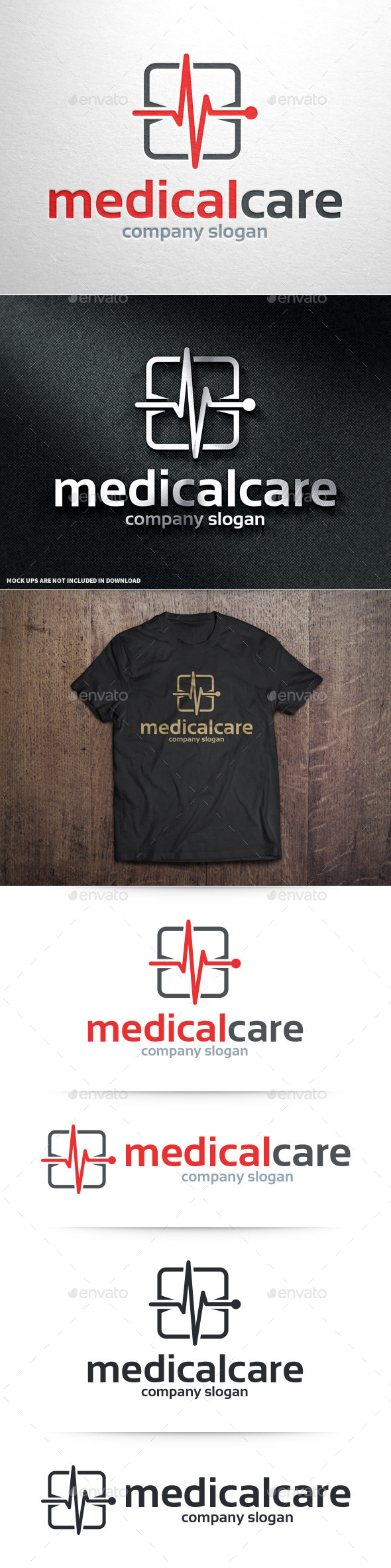 GraphicRiver Medical Care Logo Template 10984027