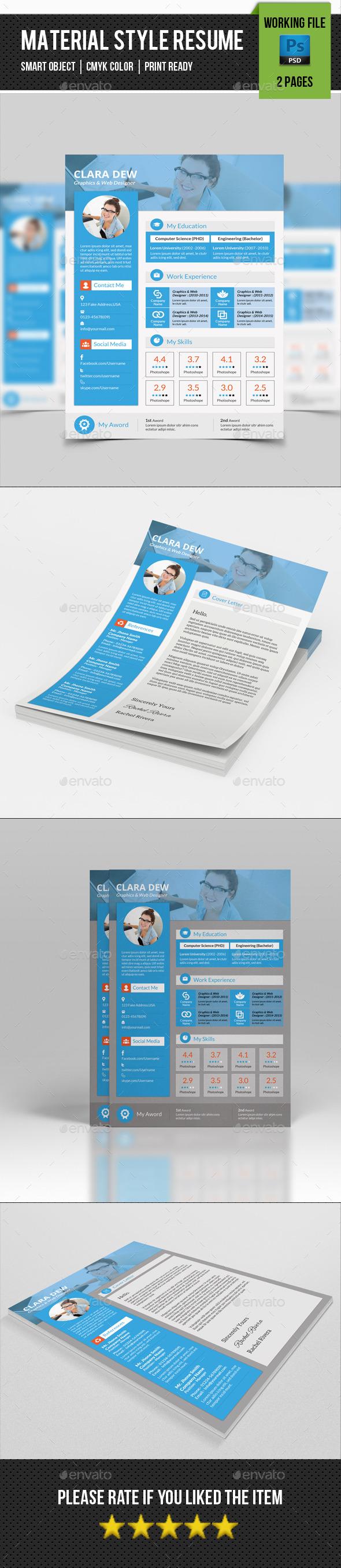 GraphicRiver Creative Resume Template-V16 10984432