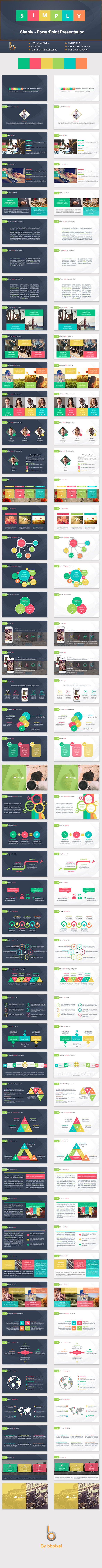 GraphicRiver Simply PowerPoint Presentation Template 10984730