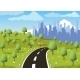 Road to a City - GraphicRiver Item for Sale