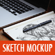 Sketchbook Mockup v.2 - GraphicRiver Item for Sale