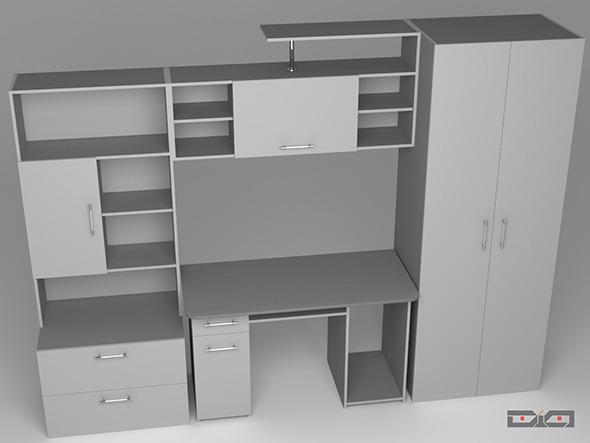 3DOcean Cabinet Metallic 10985363