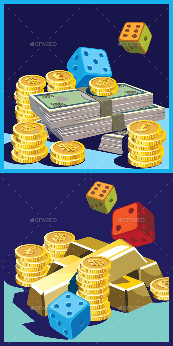 GraphicRiver Chance and Money 10985838