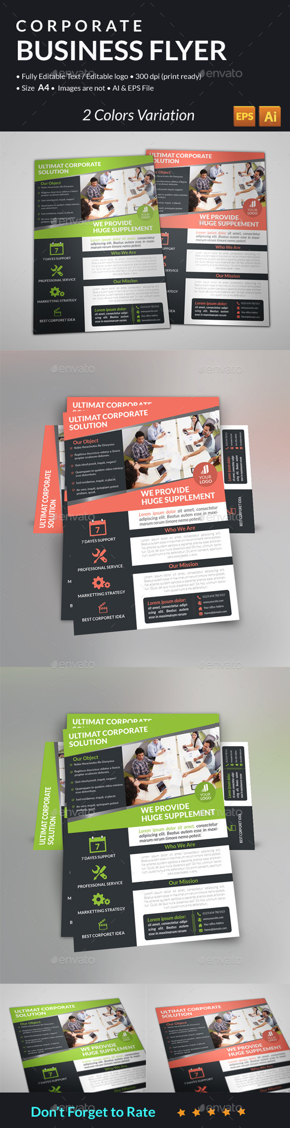 GraphicRiver Corporate Business Flyer 10985909