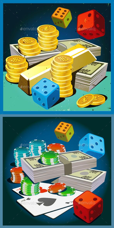 GraphicRiver Fortune in Retro Style 10986226