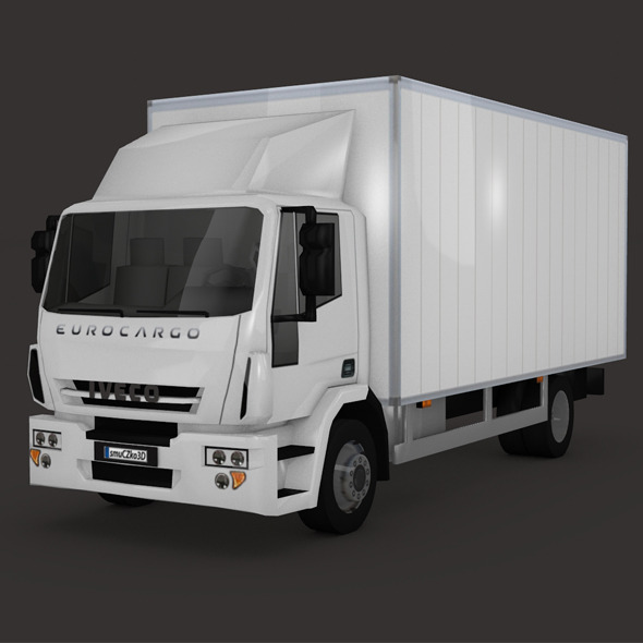 LOW POLY IVECO EUROCARGO (2013) - 3DOcean Item for Sale