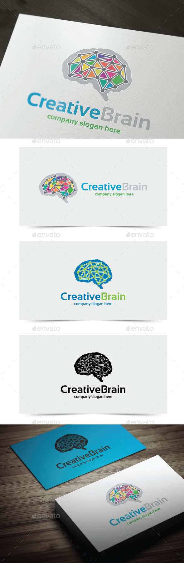 GraphicRiver Creative Brain 10986472