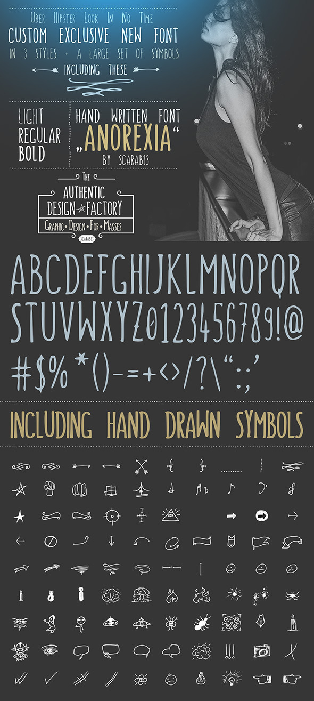GraphicRiver Handwritten Font
