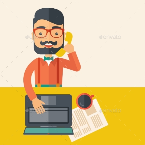 GraphicRiver Telemarketing 10986650