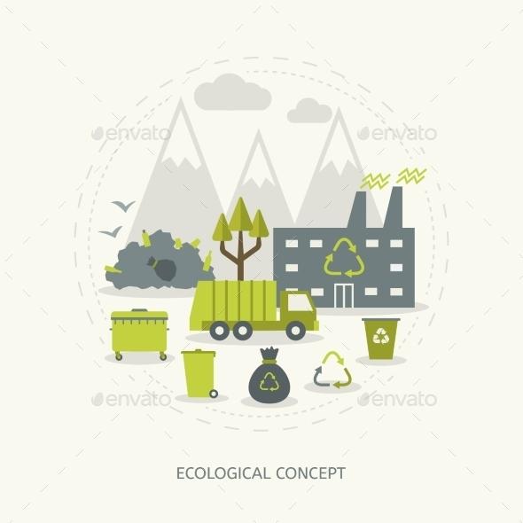 GraphicRiver Ecologic Concept 10986876