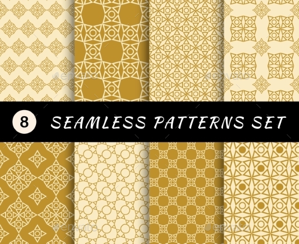 GraphicRiver Seamless Patterns Set 10986921