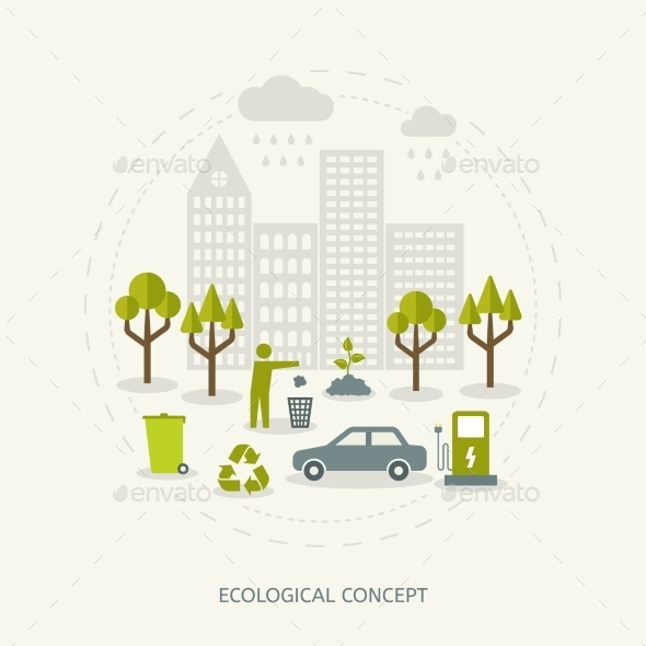 GraphicRiver Ecologic Concept 10986936