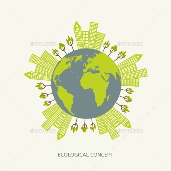 GraphicRiver Ecologic Environment Concept 10986939