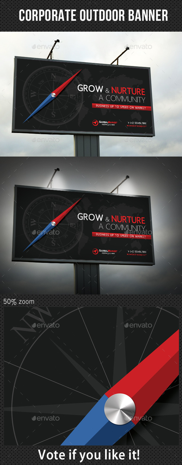 GraphicRiver Corporate Outdoor Banner 34 10987066