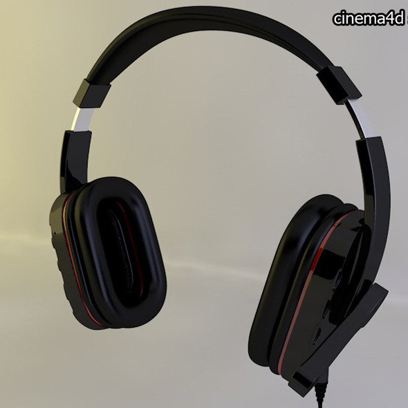 3DOcean headphone 10987090