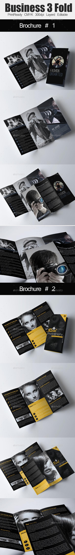GraphicRiver Tri Fold Business Brochure Bundle 10987111