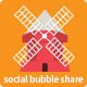 Social Bubble Share - CodeCanyon Item for Sale