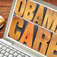 obamacare typography on laptop screen - PhotoDune Item for Sale