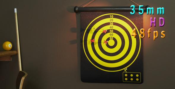 VideoHive Target Dartboard 10987470
