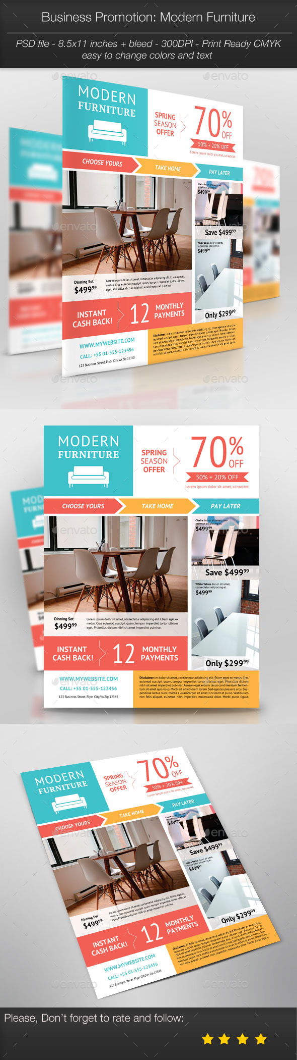 GraphicRiver Business Promotion Modern Furniture 10987969