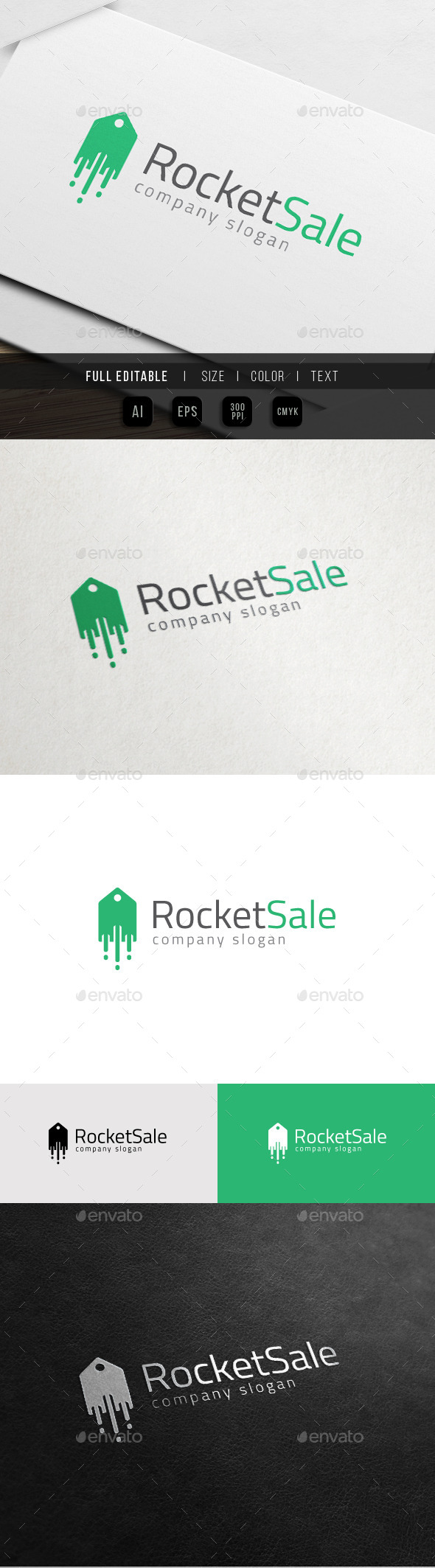 GraphicRiver Rocket seller Fast Discount Store Launch 10988013