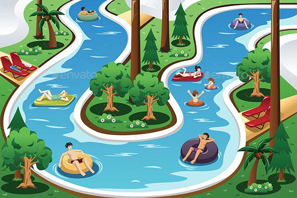 GraphicRiver River Pool 10988214