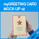 myGreeting Card Mock-up v2 - GraphicRiver Item for Sale