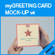 myGreeting Card Mock-up v4 - GraphicRiver Item for Sale