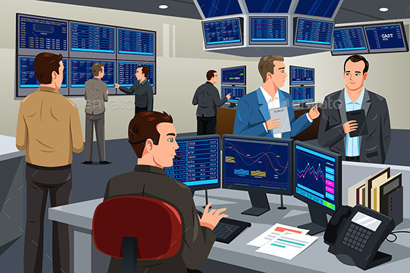 GraphicRiver Financial Stock Trader 10988608