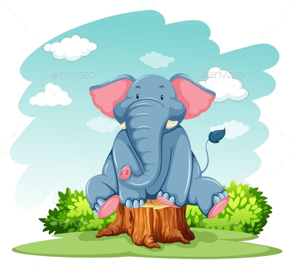 GraphicRiver Elephant 10988877
