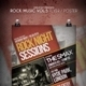 Rock Music Flyer / Poster Vol.5 - GraphicRiver Item for Sale