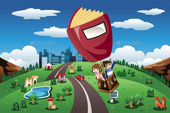 GraphicRiver Hot Air Balloon 10989198