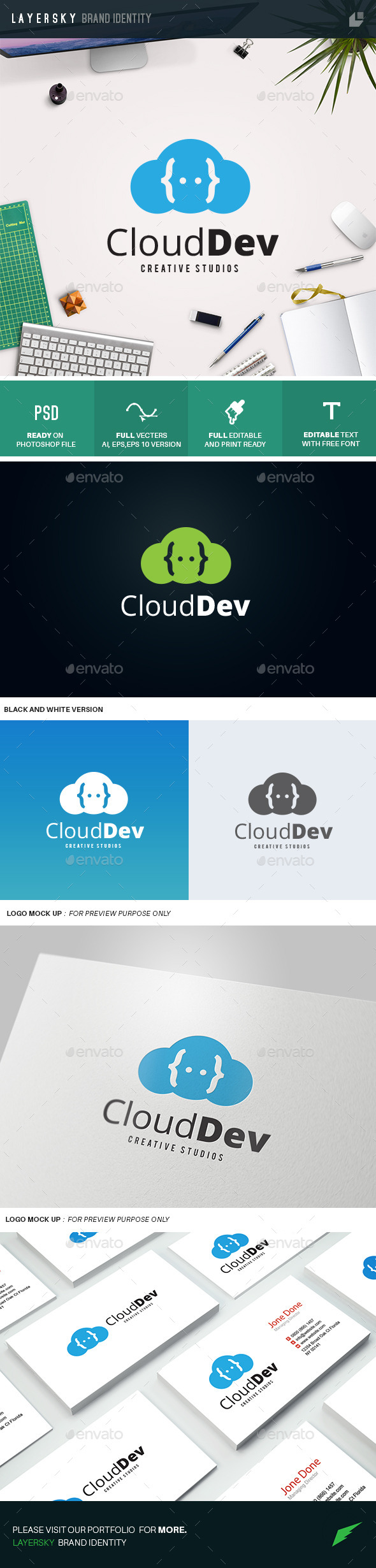 GraphicRiver Cloud Dev 10989321
