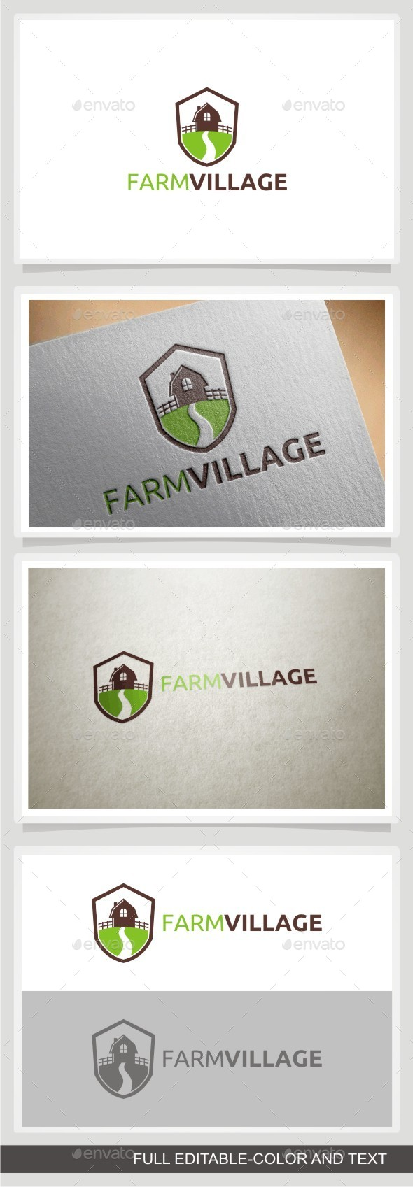 GraphicRiver Farm Village 10989505