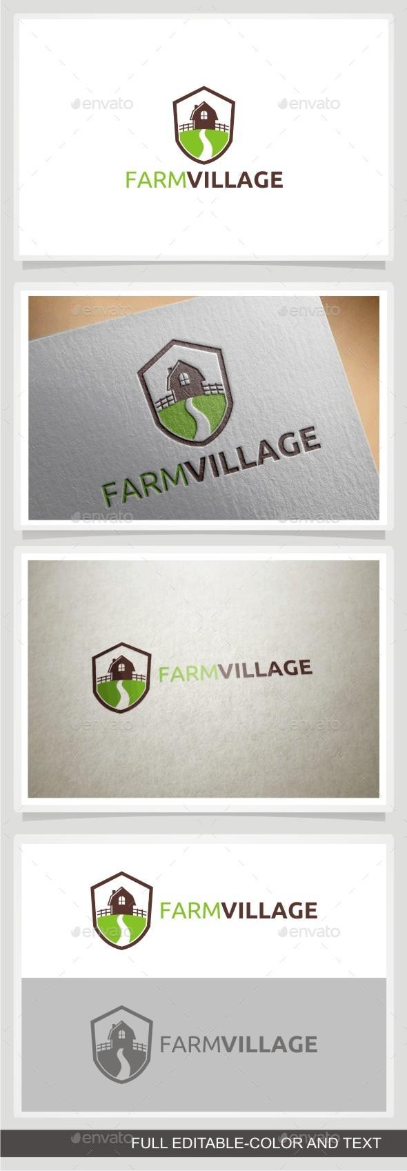 GraphicRiver Farm Village 10989505