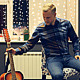 Guy Takes Acoustic Guitar and Sings a Song - VideoHive Item for Sale