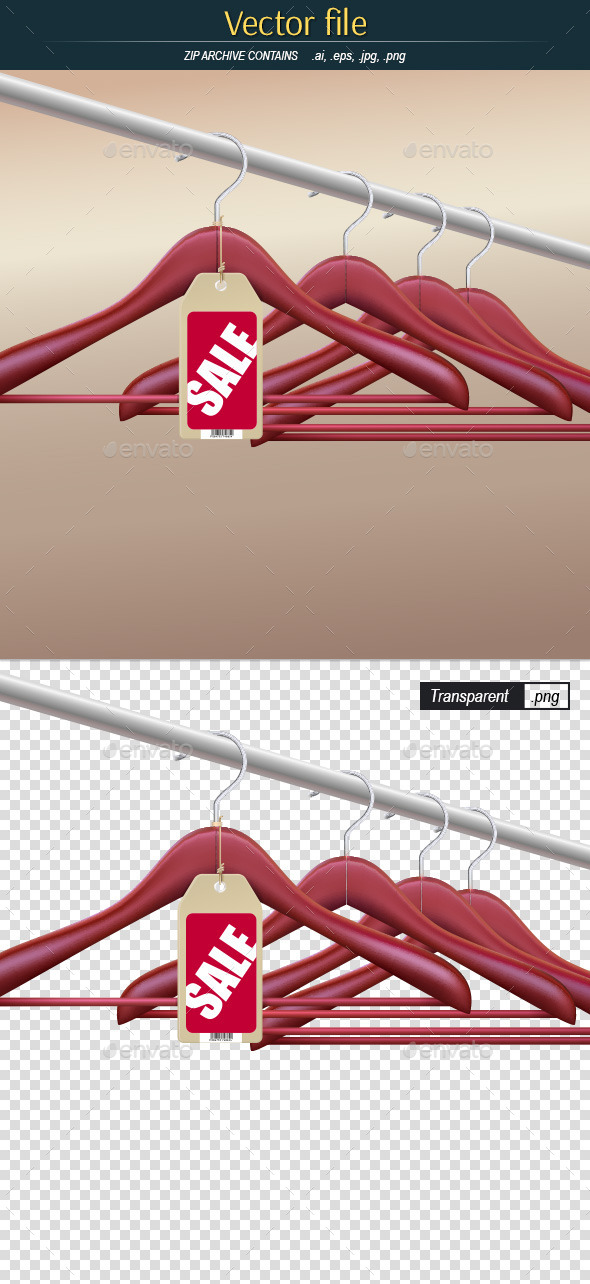 GraphicRiver Hanger with Sale Tag 10989534