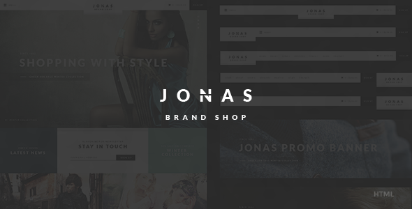 Jonas - Brand Shop HTML Template