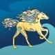 Arabic Horse Vector Illustration  - GraphicRiver Item for Sale