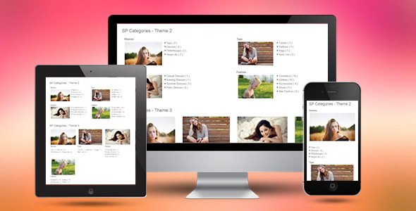 CodeCanyon SP Categories Responsive Prestashop Module 10990850
