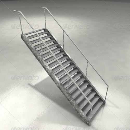 3DOcean stairs 136299