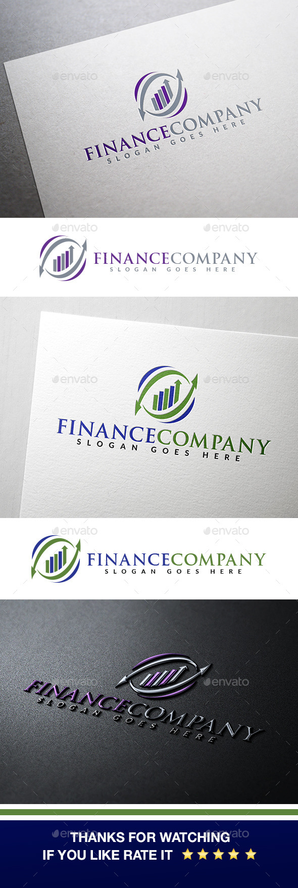 GraphicRiver Finance & Marketing Logo 10990894