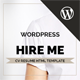 Hireme - Responsive Resume WordPress Theme - ThemeForest Item for Sale