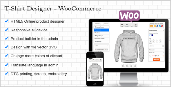 CodeCanyon T-Shirt Designer WooCommerce plugin 10959830