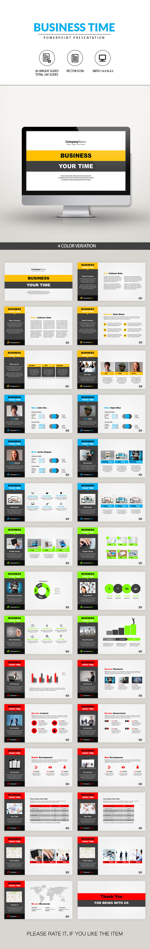 GraphicRiver Corporate PowerPoint Presentation 10991148