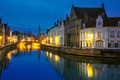 Jan Van Eyck Square and Canal Spiegel in Bruges, Belgium - PhotoDune Item for Sale