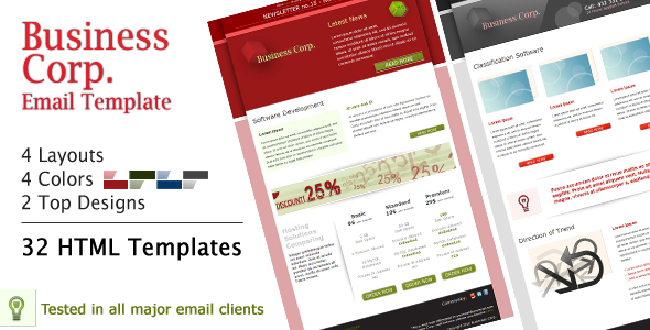Business Corp. Newsletter - Email Template