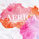 Watercolor Map Africa - GraphicRiver Item for Sale